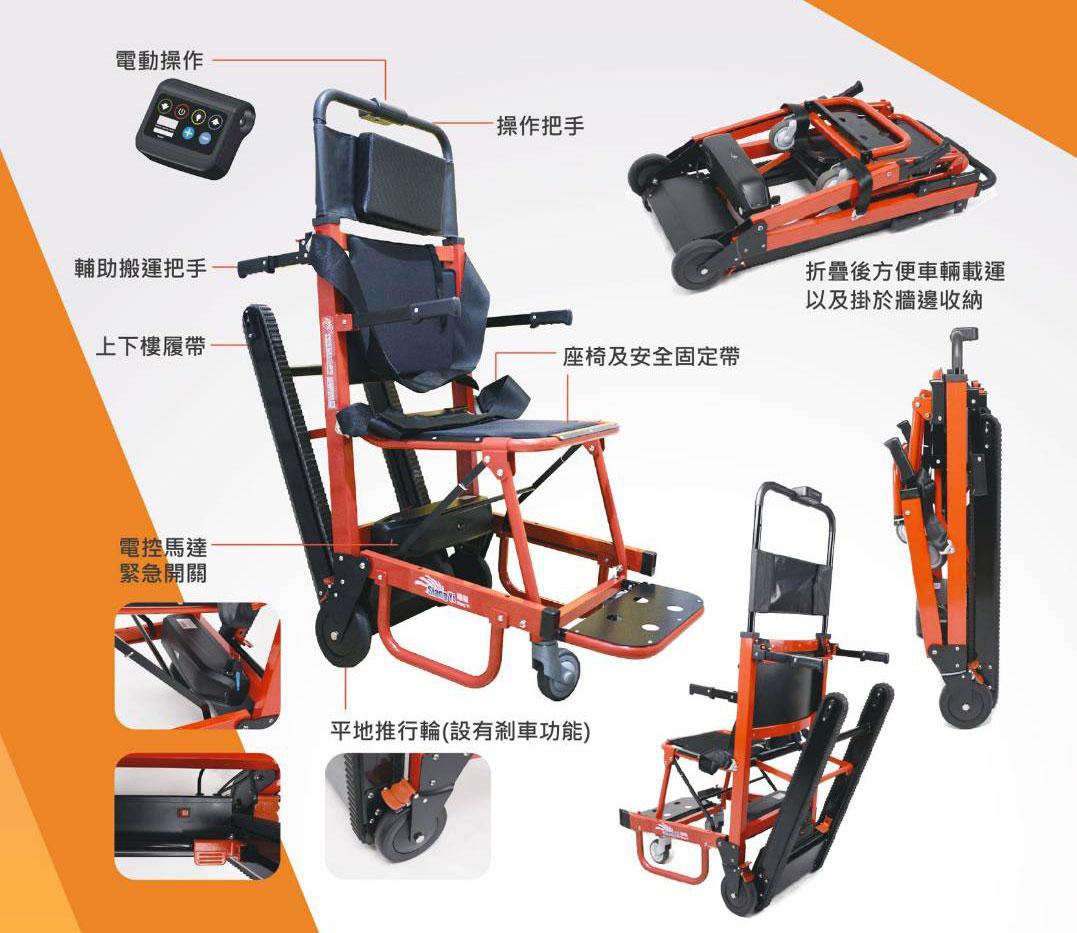 折疊式電動爬梯椅SY-1