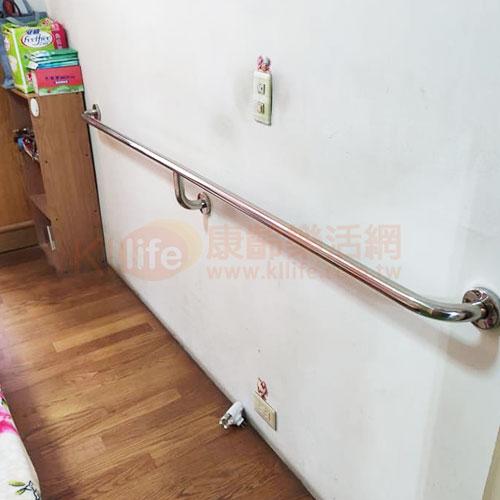 不鏽鋼安全扶手-連續型扶手/長型扶手客戶安裝實例