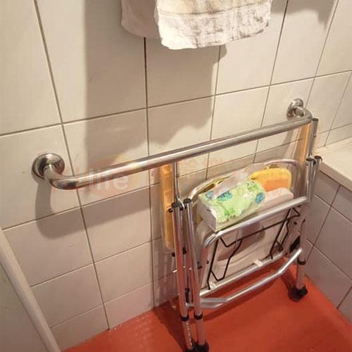 不鏽鋼扶手/C型安全扶手客戶安裝實例