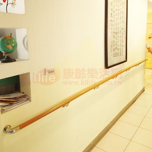 塑木(木紋)扶手/安全扶手客戶安裝實例