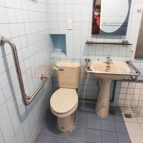 不鏽鋼扶手/L型馬桶扶手/浴室扶手客戶安裝實例