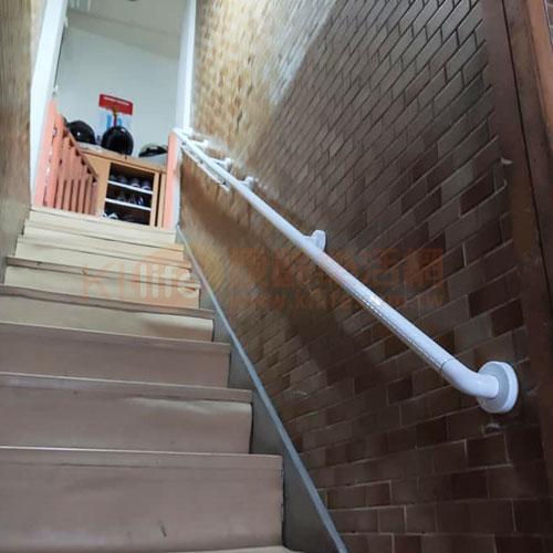 防滑抗菌安全扶手-連續型扶手/長型扶手/ABS扶手客戶安裝實例