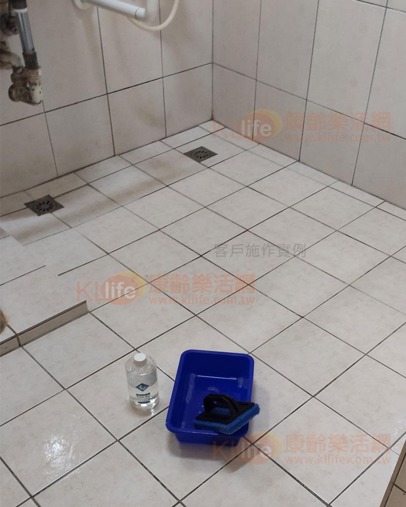 防滑塗劑施工,浴室防滑止滑,客戶使用實例